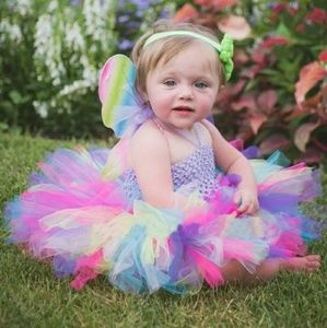 Other - Baby 1st birthday outfit new party tutu dress
